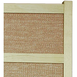 Handmade Jute 84-inch Room Divider (China) - Thumbnail 2