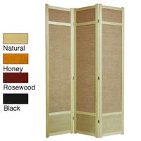 Handmade Jute 84-inch Room Divider (China)