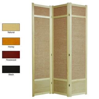 Handmade Jute 84-inch Room Divider (China)