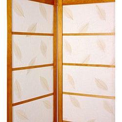 Botanic Shoji Screen with Solid Bottom (China) - Thumbnail 1