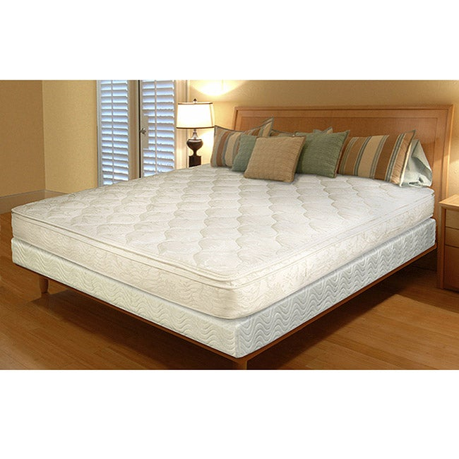 Pillow top innerspring 11 inch twin size mattress in a box free shipping today Best twin size mattress