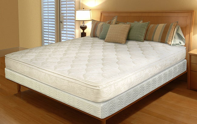 Pillow-top Innerspring 11-inch King-size Mattress-in-a-box