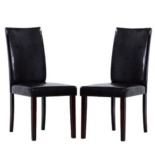 Shino Black Dining Chairs (Set of 2)