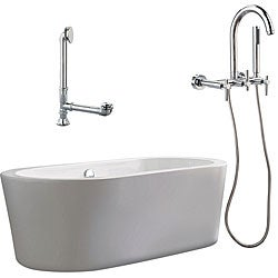 Ventura Apron Tub and Wall Mount Faucet Package