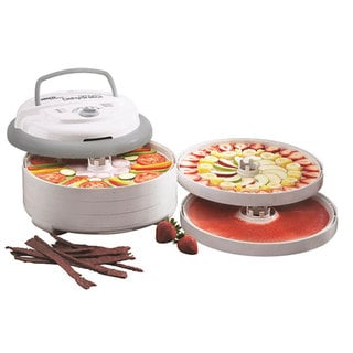 Nesco American Harvest FD-75PR 600-Watt Food Dehydrator-Speckled