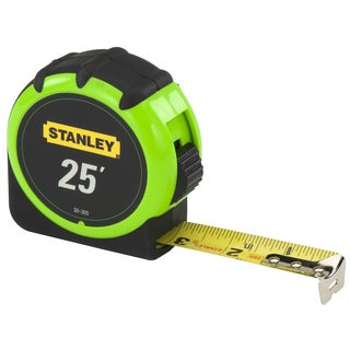 Stanley 30-305 25-foot Hi Vis Measuring Tape