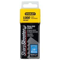 Stanley Tra706t/rto-041 3/8-inch Heavy-duty Staples (Pack of 1,000)