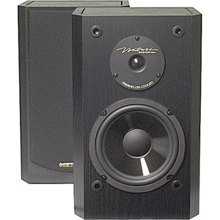 6 175-Watt 2-Way Shielded Bookshelf Speakers