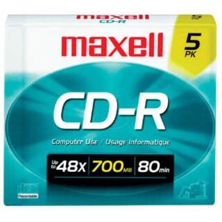 Maxell 40x CD-R Media