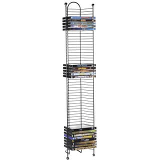 Nestable Storage 52-DVD/Blu-ray Tower