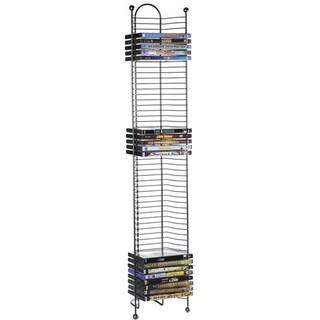 Nestable Storage 52-DVD/Blu-ray Tower