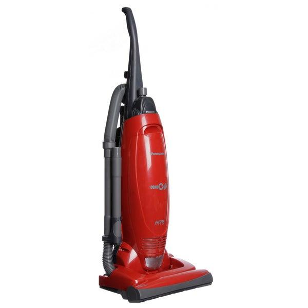Shop Panasonic Mc Ug471 Pepper Red Upright Bagged Vacuum
