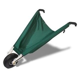 Wheel Easy LE Green Collapsible Wheelbarrow