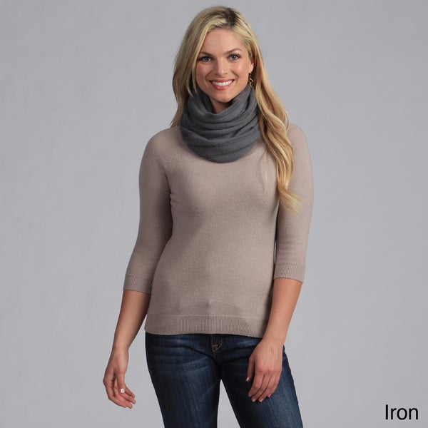 Cocoon Cashmere Hand-Woven Wool Scarf