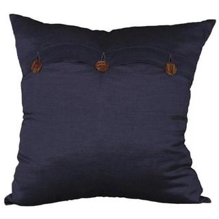 Handmade Blue Thai Silk Cushion Cover