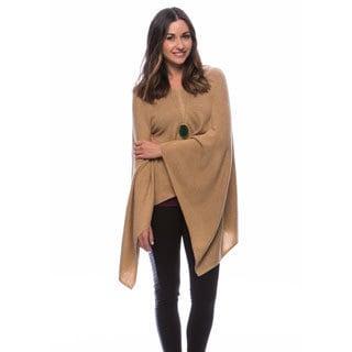 Cashmere Pullover Poncho