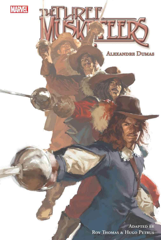 Marvel Illustrated: the Three Musketeers (Hardcover)