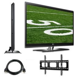 LG 47SL80 47-inch 1080P 240HZ LCD HDTV Bundle
