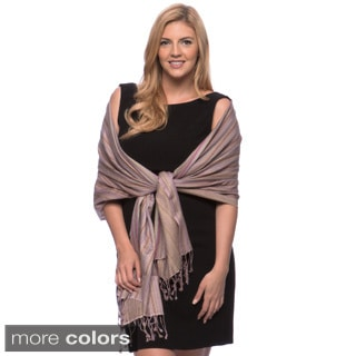Pashmina Multi-color Stripe Shawl