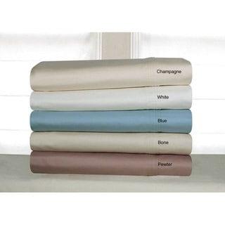 Pima Cotton 600 Thread Count Deep Pocket Sheet Set
