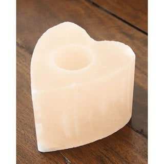 Black Tai Heart-shaped Salt Candle Holder