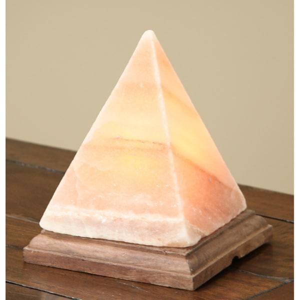 Marvelous Black Tai 8 Inch Pyramid Himalayan Salt Lamp