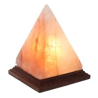 Handmade Large Pyramid Himalayan Salt Lamp with Cord (Pakistan)