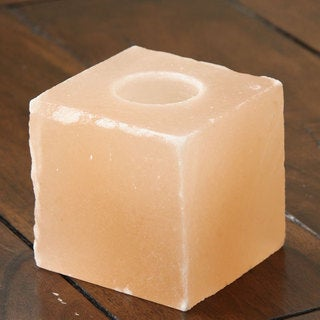 Black Tai Square-shaped Salt Candleholder