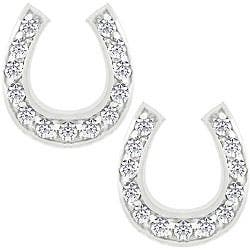 Kate Bissett Silvertone Cubic Zirconia Horseshoe Earrings|https://ak1.ostkcdn.com/images/products/3403014/3/Kate-Bissett-Silvertone-Cubic-Zirconia-Horseshoe-Earrings-P11485686.jpg?impolicy=medium