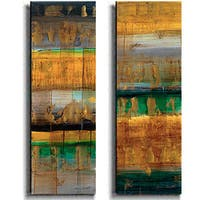 Lanie Loreth 'The World As We Know' Canvas Art (Set of 2)