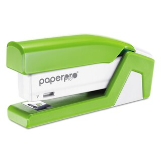 PaperPro inJoy 20 Compact Stapler, 20-Sheet Capacity, Green