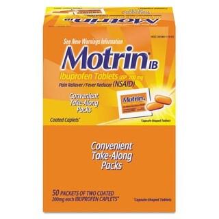 Motrin IB Ibuprofen Tablet Packs (Case of 50)