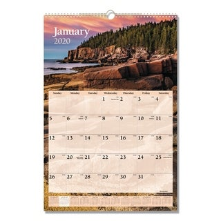 AT-A-GLANCE Scenic Monthly Wall Calendar, 15 1/2 x 22 3/4, 2018