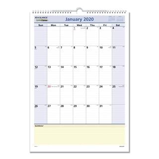 AT-A-GLANCE QuickNotes Wall Calendar, 12 x 17, 2018