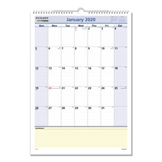 AT-A-GLANCE QuickNotes Wall Calendar, 12 x 17, 2018|https://ak1.ostkcdn.com/images/products/3406412/P11488945.jpg?impolicy=medium