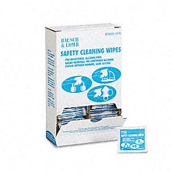 Bausch and Lomb Antibacterial Safety Cleaning Wipes - Thumbnail 0