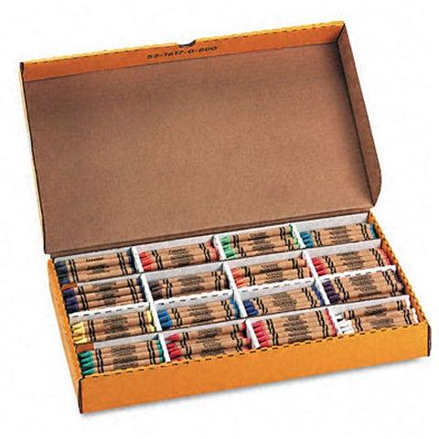 Class Pack Crayola Construction Paper Crayons (400 per Box)