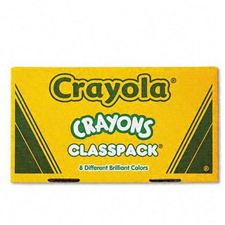 Crayon 8-color Large Classpack (Pack of 400)