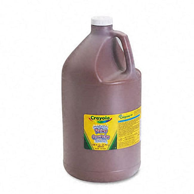 Brown Washable Paint (1 Gallon) (Other)