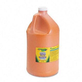 Orange Washable Paint (1 Gallon)
