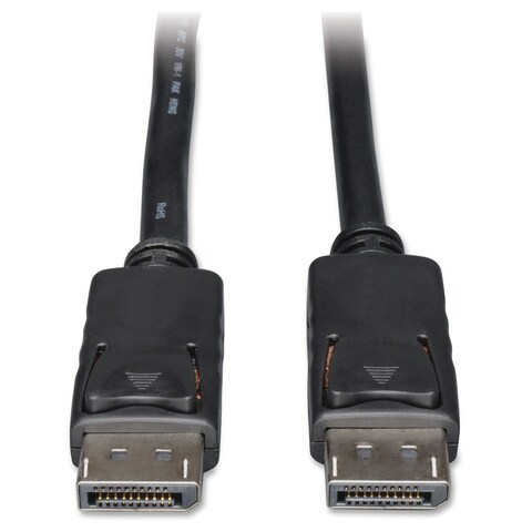 Tripp Lite 15ft DisplayPort Cable with Latches Video / Audio DP 4K x