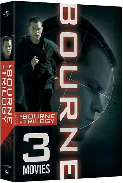 The Bourne Trilogy (DVD) - Thumbnail 0