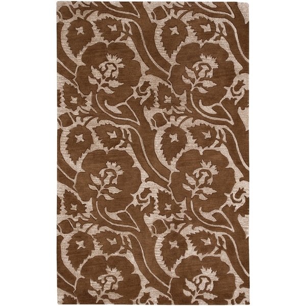 Hand-tufted Leuven Wool Area Rug - 9' x 13'
