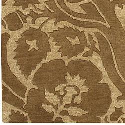 Hand-tufted Leuven Wool Rug (9' x 13') - Thumbnail 2