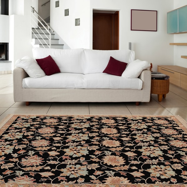Hand-knotted 'Legacy' Wool Area Rug (8' x 10') - 8' x 10'