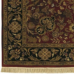 Hand-knotted Legacy Wool Rug (9'6 x 13'6)