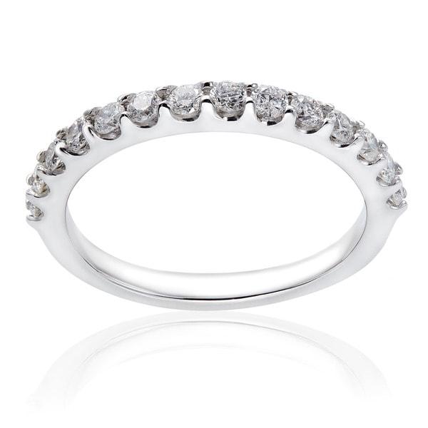 Annello by Kobelli 14k Gold 1/2ct TDW Diamond Wedding Band (G-H, I1-I2)