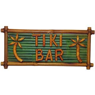 Bamboo 'Tiki Bar' Sign (Vietnam)