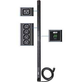 Tripp Lite PDU Metered 208V - 240V 20A 6 C19; 32 C13 C20 Vertical 0UR