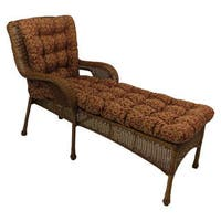 inspiring outdoor chaise lounge | Shop Blazing Needles 72-inch All-Weather Chaise Lounge ...